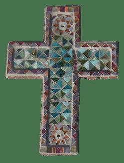 croix or et vert