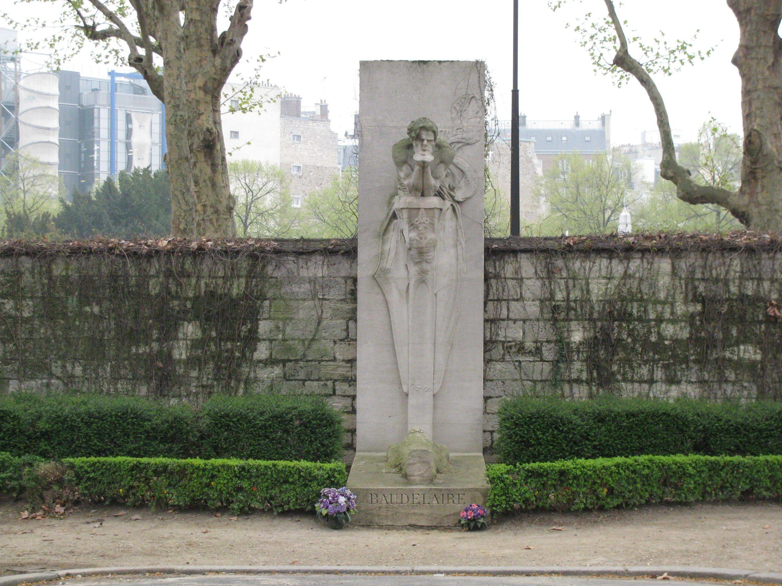 tombe de Baudelaire