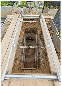 inhumation en pleine terre