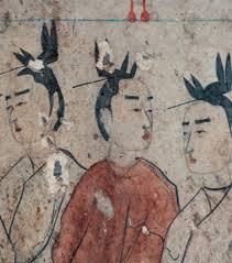 fresque dynastie qi