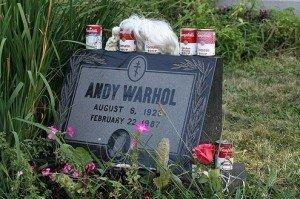 tombe de Andy Warhol