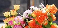 Les fleurs le jour de la fête des morts