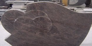 forme de pierre tombale